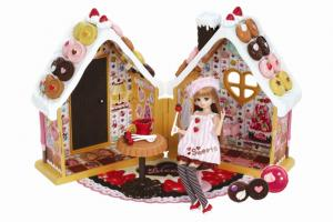 リカちゃんお菓子の家