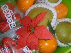 クリスマスフルーツギフト