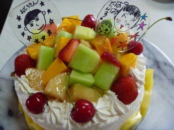 プラバンdeケーキ