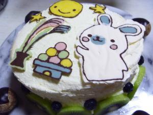 お月見ケーキ