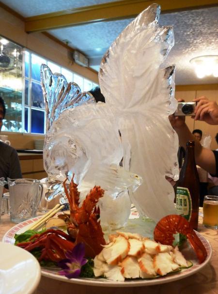 台北夕食1