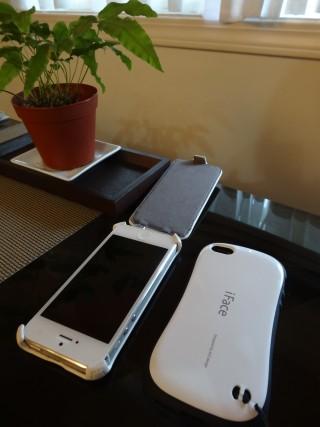 iphone5 ケース iFace ホワイト