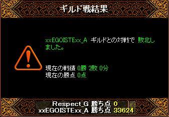 EGOISTE戦結果
