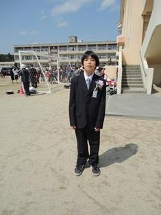 岬 小学校卒業式7 - コピー