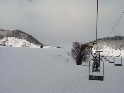 1/23(水)おじろスキー場単独行