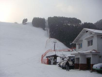 おおやスキー場にて