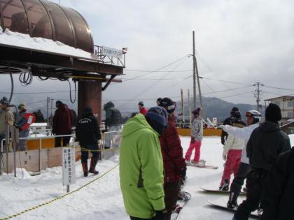 スカイバレー・東鉢スキー場 単独行