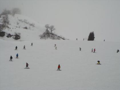 オジロ・スキー場単独行 銀嶺会仲間と出会う