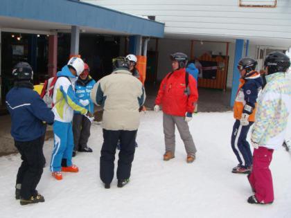 銀嶺会奥美濃スキー行 ひるがの高原スキー場