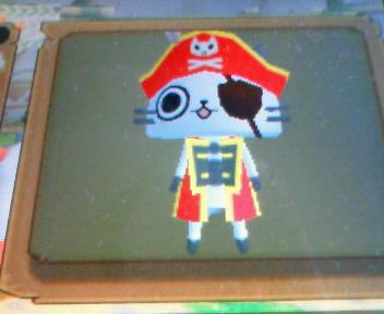 海賊アイルー