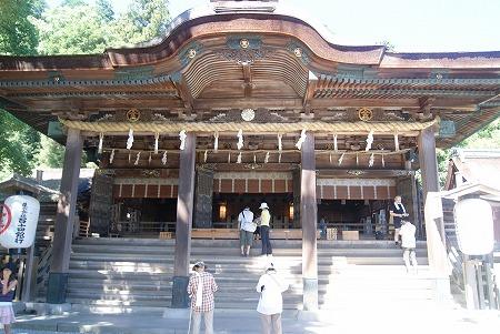 金比羅山 本宮拝殿
