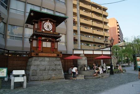 松山 カラクリ時計