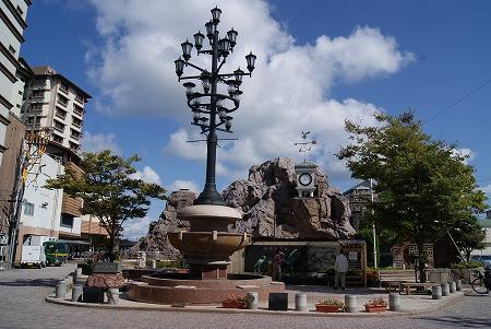 和倉温泉 湯元広場