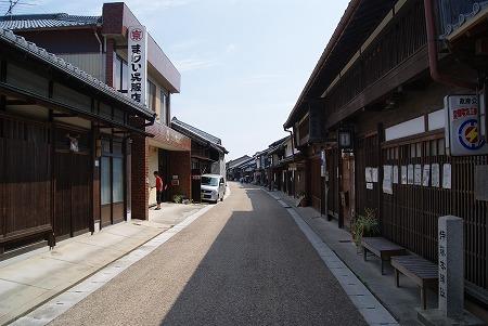 関宿 晴れた 風景