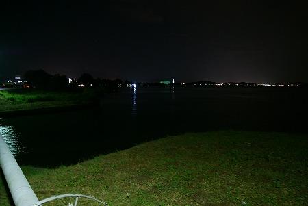 滋賀 琵琶湖 真っ暗