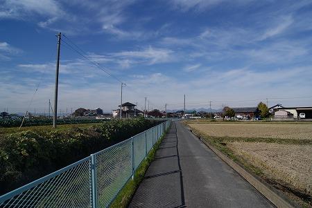 群馬 田舎道