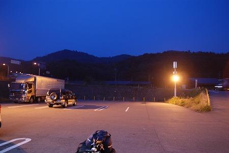 木崎湖 まっくら
