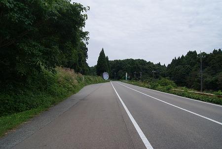 能登 緩い坂道