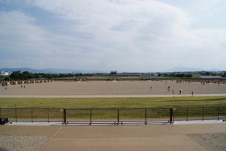 奈良 城跡 眺め