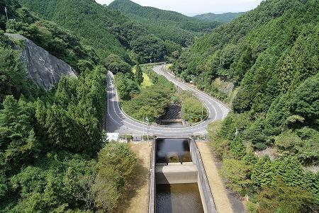 奈良 天理ダム 上