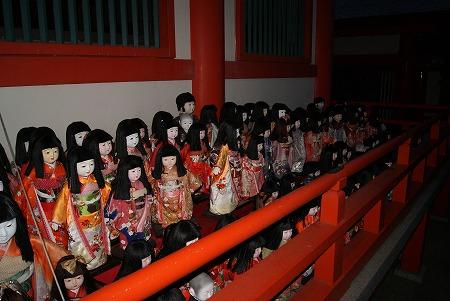 淡嶋神社 日本人形
