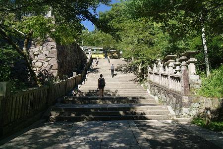 金比羅山 階段その1