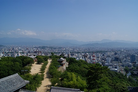 松山城 景色