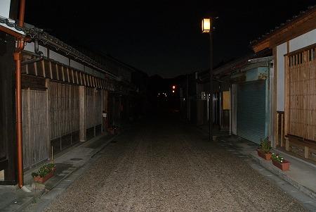 三重 関宿 夜
