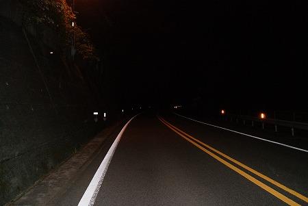 愛媛 夜 道
