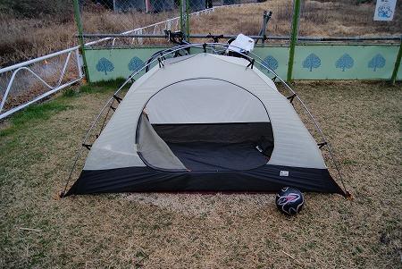 テントの跡2