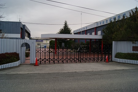 母校の校門