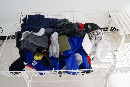 洗濯後の服