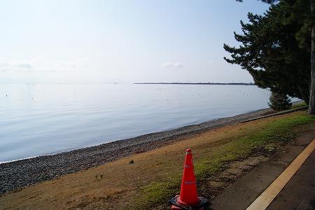 穏やか琵琶湖