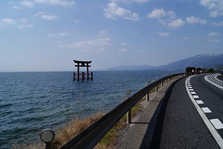 鳥居琵琶湖