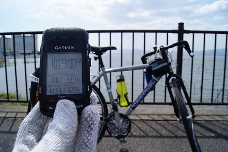 ゴール琵琶湖