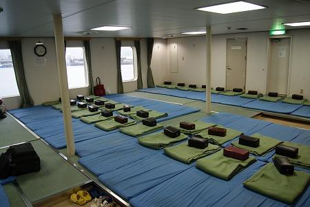 鹿児島フェリー 寝室