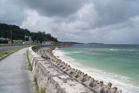 名護市 海 砂浜