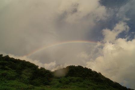 石垣島 虹