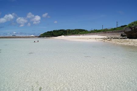 ニシ浜 砂場