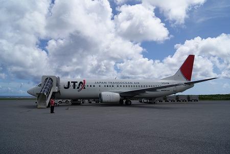 石垣島 旅客機
