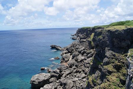 与那国島 断崖絶壁
