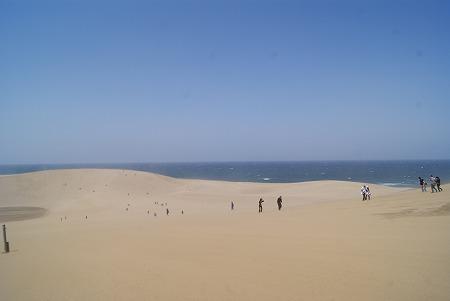 鳥取砂丘到着