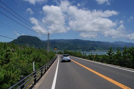 桜島 道路1