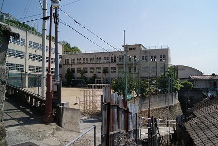 尾道の小学校