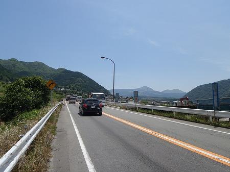 国道57号 阿蘇山 その2