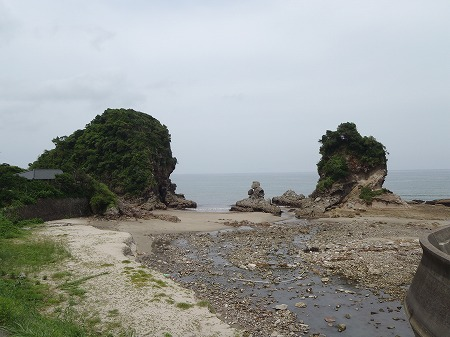 人形岩 鹿児島