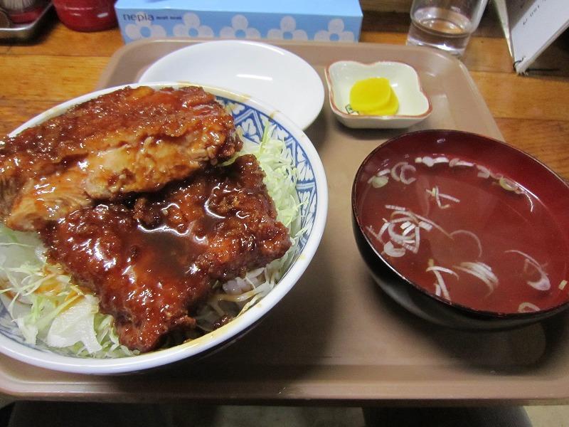 ミニカツ丼