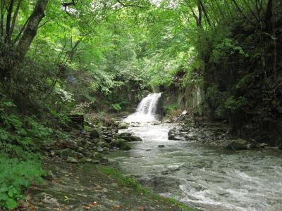 葉隠の滝02