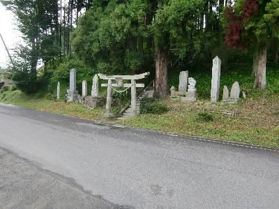 鹿島神社・参道麓