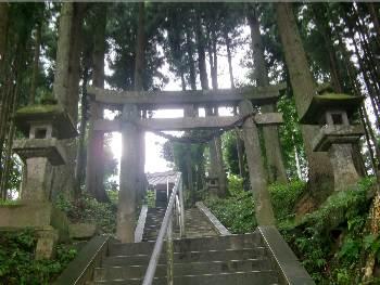 鹿島神社・二の鳥居